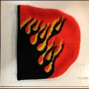 Flame beanie